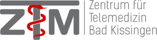 Logo des Zentrums für Telemedizin Bad Kissingen