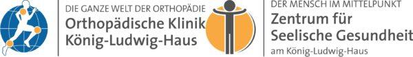 Logos der Klinik König-Ludwig-Haus, Orthopädische Klinik und Zentrum für Seelische Gesundheit, Klinik in Würzburg