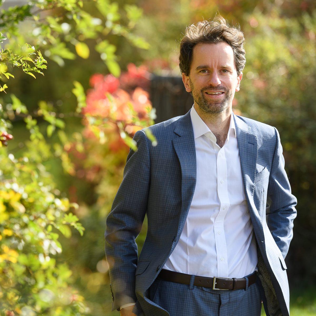 Kaufmännischer Direktor des Uniklinikum Würzburgs, Herr Philipp Rieger